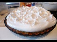 Pastel de limón con merengue vegano - de Dimensión Vegana