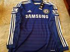 For Sale - Chelsea Home 2014/2015 Hazard Long Sleeve Official Adidas Jersey - See More at http://sprtz.us/ChelseaEBay