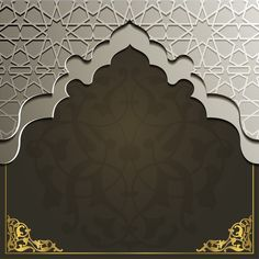 Islamic Art Pattern, Pattern Art, Islamic Motifs, Wallpaper Ramadhan, Eid Card Designs, Museum Exhibition Design, Old Paper Background, Islamic Posters, Page Borders Design