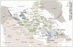 nunavut map regions