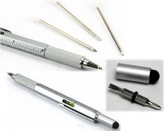 HexStyli pen has six tools in one small package