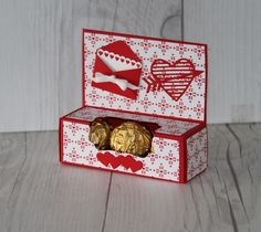 Stampin' Up! Sealed with Love Valentine's Day Treat Box