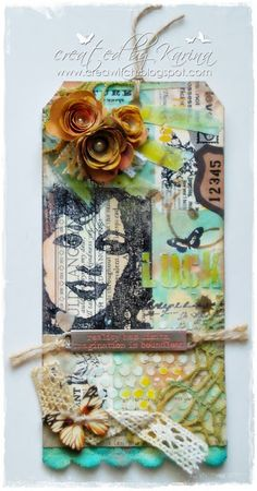 CREAWITCH: Tim Holtz 12 Tags of 2016 - May