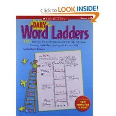 Daily Word Ladders: Grades 1-2: 150+ Reproducible Word Study Lessons That Help Kids Boost Reading, Vocabulary, Spelling and Phonics Skills!: Timothy Rasinski: 9780545074766: Amazon.com: Books