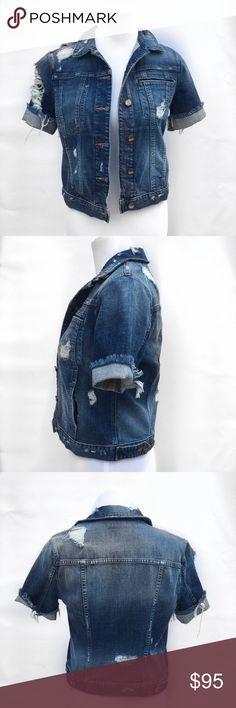 HIGHWAY Short Sleeve Denim Jacket   Jackets   Stitch Fix ...