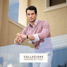 David Gandy for Collezione shot by Arnaldo Anaya Lucca, Marks & Spencer SS 2013 <3