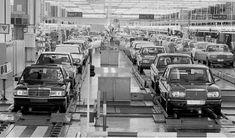 W123 & W201 assembly line