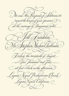 John Stevens | Calligrapher, Lettering Artist & Designer