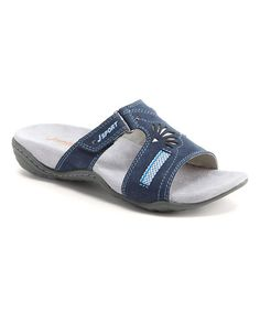 Look what I found on #zulily! Navy Claudia Active Sandal #zulilyfinds