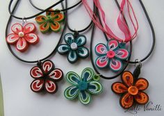 This is very fun and unique paper necklace. It's design allows many different color variations to accommodate every person's personality and taste. It works great as an accessory for children as well as adults because different color combinations bring out various aspects of it - it can go from playful to sophisticated in just a couple of color tweaks.