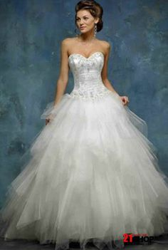 princess wedding dresses from the 1700 | ... Tulle Ball Gown Wedding Dresses | Wedding Destination: Colombia