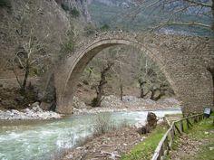 Stone bridge near Pertouli village, central Greece. #Pertouli #Thessaly #Greece.