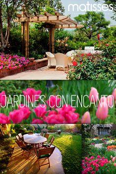 Una de las principales tareas para diseñar un jardín es marcar un recorrido en el que se integren zonas para leer, descansar o compartir en familia. Sigue nuestros consejos del #blog para crear un jardín lleno de encanto: