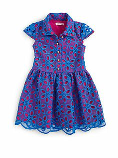 Lilly Pulitzer Kids Toddler's & Little Girl's Parris Organza Dress