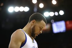 Stephen Curry Photos Photos - Stephen Curry #30 of the Golden State Warriors looks on against the Utah Jazz during Game Two of the NBA Western Conference Semi-Finals at ORACLE Arena on May 4, 2017 in Oakland, California.  NOTE TO USER: User expressly acknowledges and agrees that, by downloading and or using this photograph, User is consenting to the terms and conditions of the Getty Images License Agreement. - Utah Jazz v Golden State Warriors - Game Two