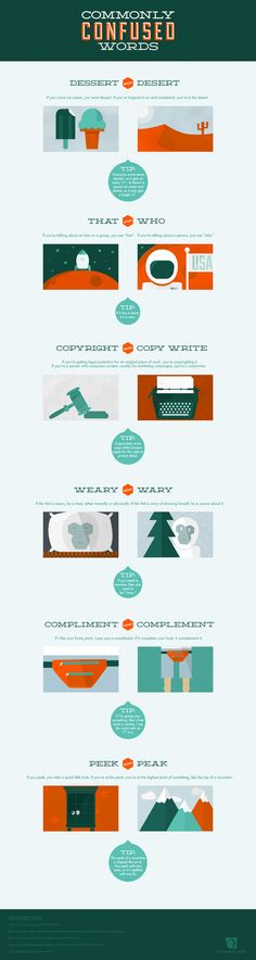 @Overstock.com - Blog: Commonly Confused Words: An Overstock.com Infographic