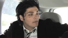 """""""Oh yeah, um""""  inspirational quotes by gerard way"""