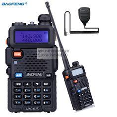 >> Click to Buy << Baofeng Walkie Talkie UV-5R  Dual Band VHF/UHF136-174Mhz 400-520Mhz Two Way Radio Handheld + 1pcs Remote Speaker Mic #Affiliate