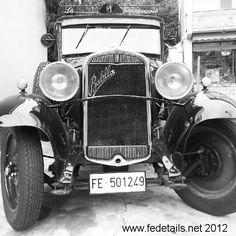 Old car black and white by FEdetails, via Flickr
