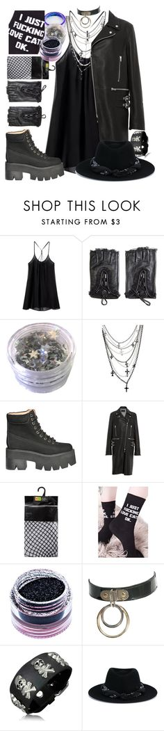 """""""adore delano stage outfit"""" by xkitten-pokerx ❤ liked on Polyvore featuring Lime Crime, Jeffrey Campbell, Alexander Wang, Killstar, Medusa's Makeup, Bling Jewelry and Maison Michel"""