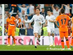 Cristiano Ronaldo's incredible backheel goal against Valencia (04/05/2014)