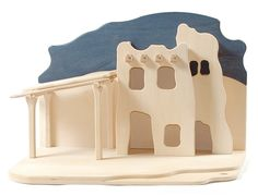 """Buntspechte: Oriental crib 