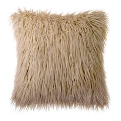 Pillow With Insert Phantoscope Decorative New Luxury Series Merino Style Multiple Color Yellow Fur Throw Pillow Cushion x (Pillow With Insert) Buy Pillows, Fur Throw Pillows, Throw Pillow Covers, Decorative Throw Pillows, Pillow Cases, Japanese Bedroom, Textile Market, Pillow Inserts, Faux Fur
