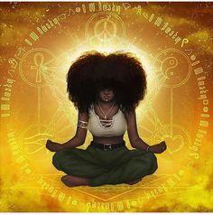 Manifestation Videos Photography - - Manifestation Affirmations Money - - - How To Start A Manifestation Journal Black Love Art, Black Girl Art, Art Girl, Black Girls, Black Art Painting, Black Artwork, Black Goddess, Goddess Art, African American Art