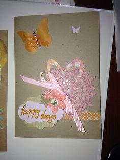 Happy days card
