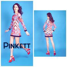 #newstuff #vestido #mangalarga #rojo #style el mejor para un evento de día y después transfórmalo con tacones y accesorios para la noche !! ♣️#pinkett #fashion #hechoenmexico #diseñomexicano #compramexicano te esperamos en #plazasatélite o #shoponline www.pinkett.com.mx