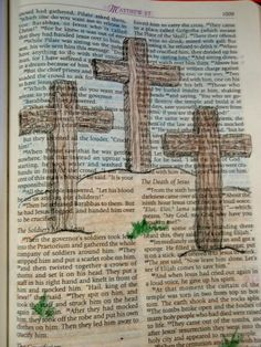 """Bringing God's Word alive. Drawing """"on"""" God's Word as we draw """"from"""" God's Word."""