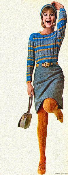 Anos 60... Porque sentir frio não era moda. (rsrsrs) DC
