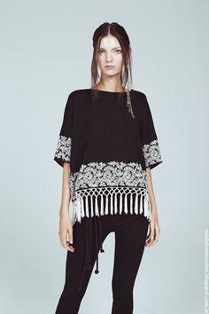 Moda primavera verano 2017 tops, blusas y pantalones Kosiuko.