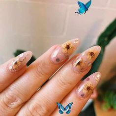 theluckyloser #nails, #Nails #theluckyloser  <br> Nail Art Designs Images, Flower Nail Designs, Simple Nail Art Designs, Acrylic Nail Designs, Acrylic Nails, Coffin Nails, Butterfly Nail Art, Rose Nail Art, White Nail Art