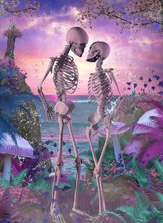 Skeleton Drawings, Skeleton Art, Dark Pictures, Pretty Pictures, Art Of Dan, Chicano Lettering, Sugar Skull Girl, Beautiful Dark Art, Skull Artwork