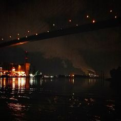 Being on the #water at #night. #welovehh