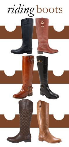 College Prep: Riding Boots  Frye has a pair that I really like... if only I had the money.
