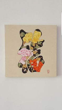 복 복자~~에 모란도 부귀영화에 복까지 충만한 그림 원데이수업 계획중~~^^ #성인취미미술#전통채색화#민화... Botanical Drawings, Art Painting, Botanical Art, Drawings, Korean Art, Illustration Art, Art, Colorful Logo Design, Folk Art Painting