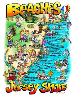 Beaches Jersey Shore