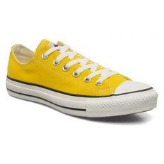 converse jaune basse
