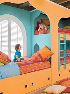 25 Fun And Cute Kids Room Decorating Ideas | Interior Design
