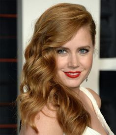 Glamorous Celebrity Hairstyles 2016 - Amy Adams at Oscars 2016