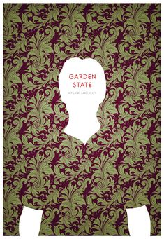 An alternative movie poster for the film Garden State, created by Craig Bradley, featured on AMP Minimal Movie Posters, Minimal Poster, Alternative Movie Posters, Music Film, Film Serie, Moving Pictures, Branding, Great Movies, Awesome Movies