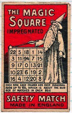1930s Matchbox Label