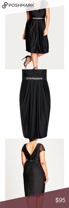 💥✨🌈💕HOST PICK 💗🙌🏾✨🦄City chic cocktail dress Elegant very flattering city chic midi dress. City Chic Dresses Midi