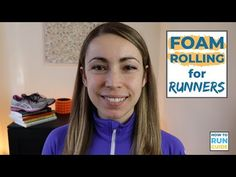 Why is foam rolling for runners so important? Find out. Plus 6 crucial foam rolling moves every runner needs to do regularly. Pre Run Stretches, Roller Stretches, Knee Pain Exercises, Foam Roller Exercises, Running Workouts, Running Training, Foam Roller For Runners, Marathon Training Plan Beginner, Long Distance Running Tips