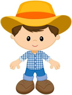 in farmer clipart kid collection - ClipartXtras Cool Art Drawings, Easy Drawings, Big Canvas Art, Art Nouveau Illustration, Farm Birthday, Birthday Parties, Vintage Art Prints, Farm Party, Farm Theme