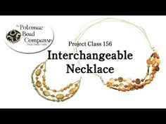 Interchangeable Necklace and Bracelet - YouTube