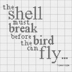 Tennyson Pattern by jacqueline | weelittlestitches, via Flickr