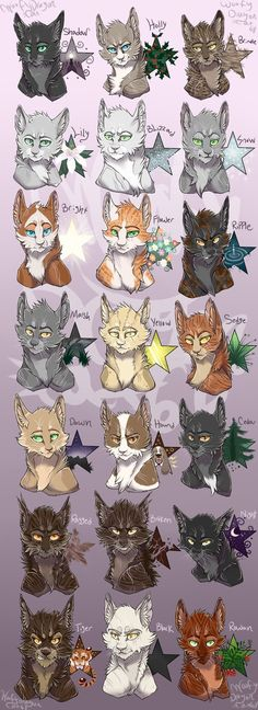 Leaders of ShadowClan